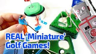 WORKING MINIATURE GOLF GAMES!