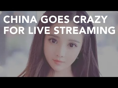China goes crazy for live streaming 中国直播平台介绍 斗鱼虎牙映客美拍