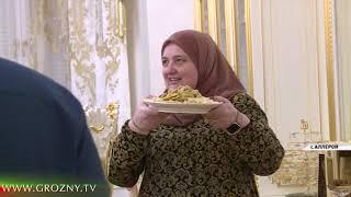 Рамзан Кадыров провел завершающий ифтар у своей старшей сестры