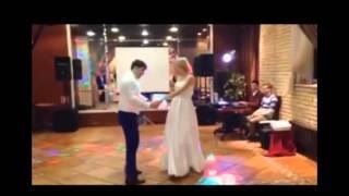 Зажигательный свадебный танец Сальса