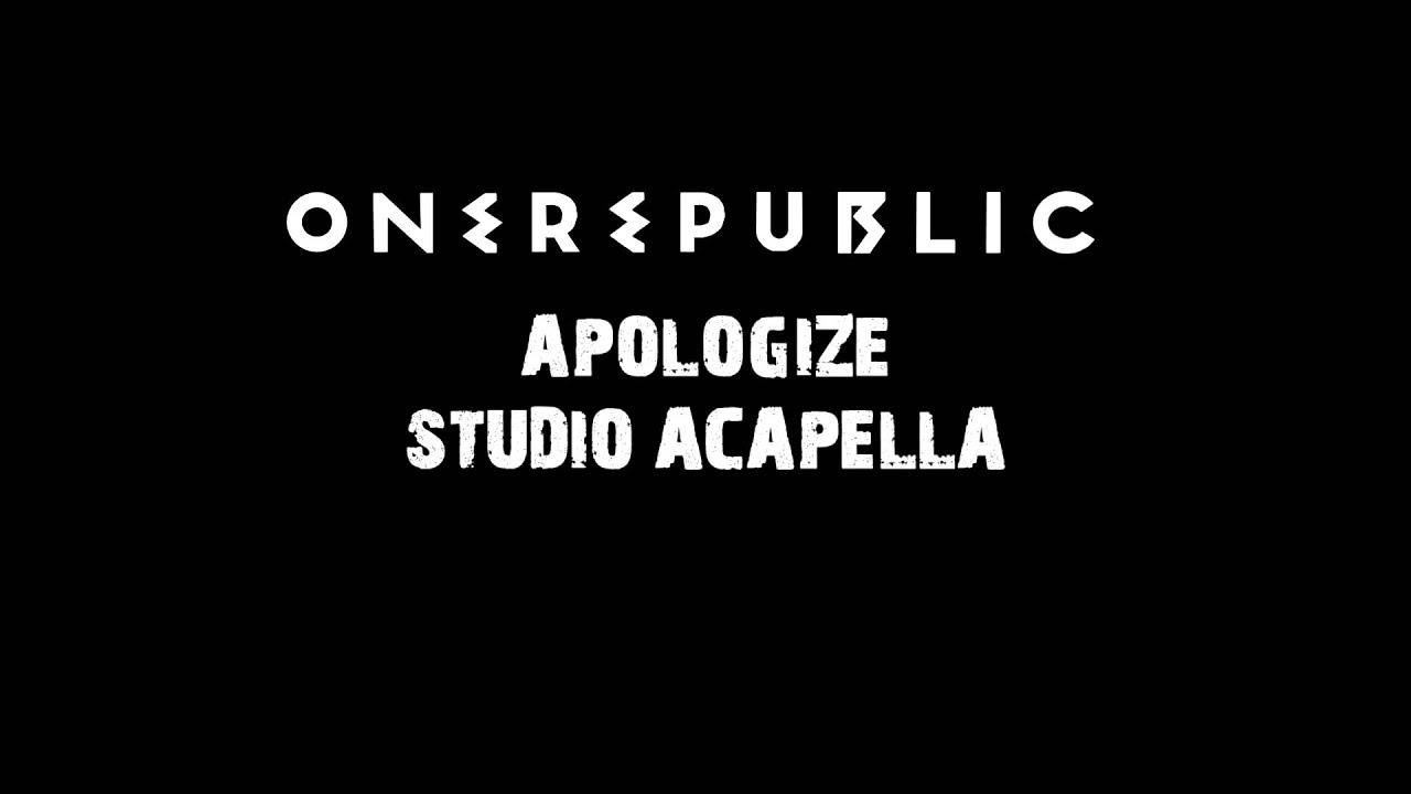 ONE REPUBLIC APOLOGIZE ACAPELLA EPUB DOWNLOAD