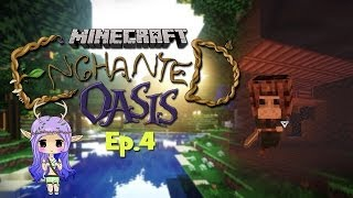 """KILLING OLD MEN"" Minecraft Enchanted Oasis Ep 4"