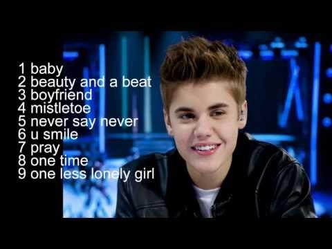 Những Ca Khúc Hay Nhất Của Justin Bieber [Phần1]