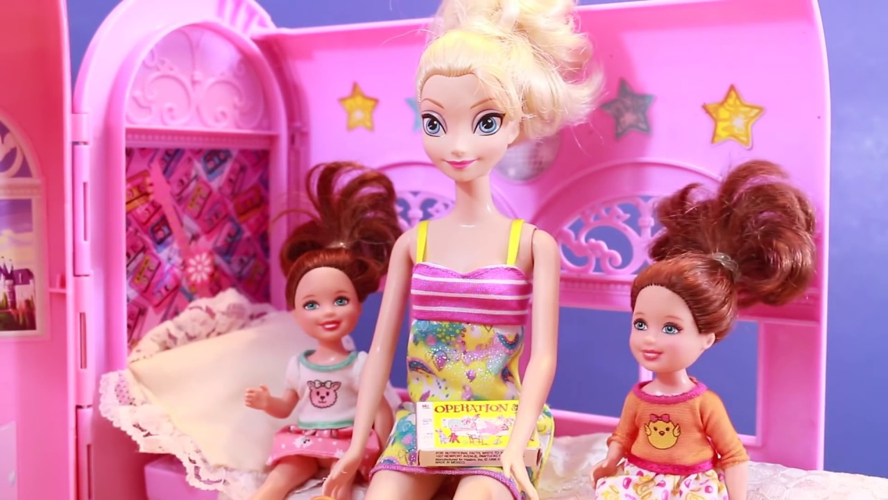 Barbie Toby Visits Vintage AllToyCollector's Dollhouse