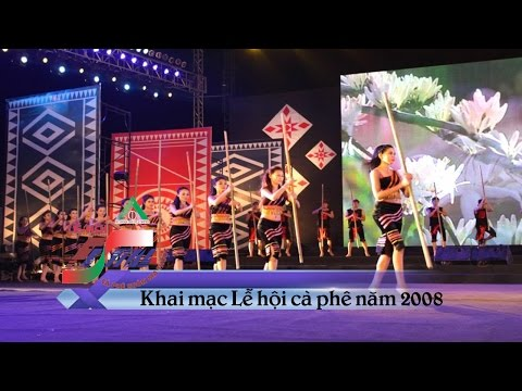 Khai mạc Lễ hội Cà phê Buôn Ma Thuột năm 2008 | LEHOICAPHE
