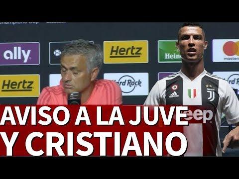 El aviso de Mourinho a Cristiano y la Juve sobre sus rivales en Italia |Diario As