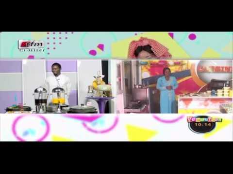 Cuisine avec Alphie & Ndiassé Traiteur dans Yeewu Leen du 20 Janvier 2017 - TFM