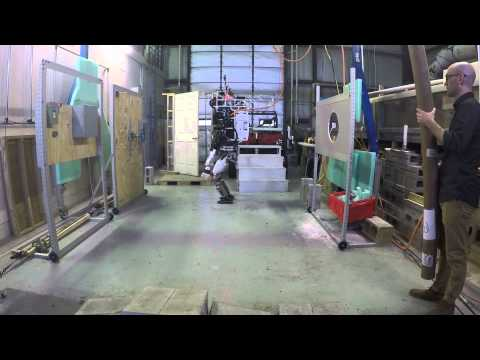 Team MIT: Atlas Robot Push Recovery