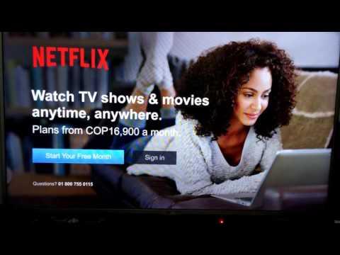 Error al iniciar sesión en Netflix desde Smart  Subtitled
