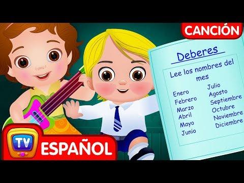 Meses del Año Canción- Enero Febrero Canción | Canciones Infantiles en Español | ChuChu TV