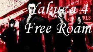 Yakuza 4 (PS3) Free Roam