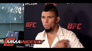 Johnny Walker on Recovery from Freak Shoulder Injury in UFC Post-Fight Celebration