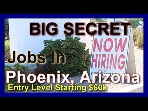 Secret Entry Level Job Hiring In Phoenix AZ
