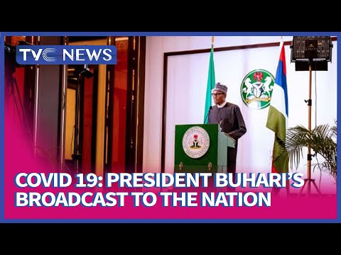 Full Address of President Buhari on COVID-19 (Watch)