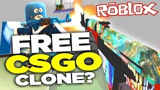 FREE CS:GO FPS? ROBLOX CS:GO Kids Edition!