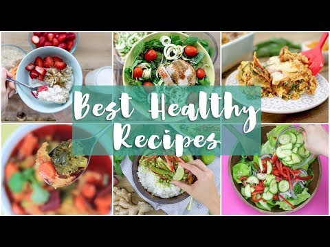 BEST OF 2017! Healthy Recipes, Meal Prep & What I Eat in a Day!