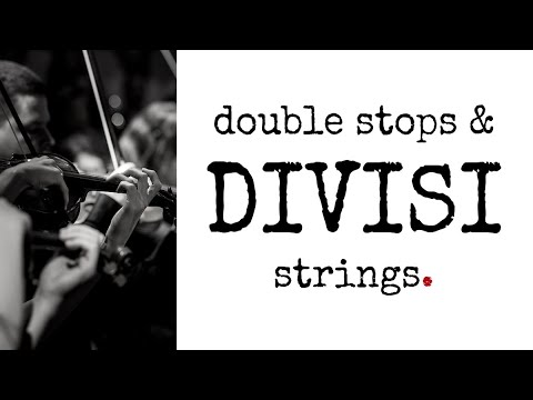 Divisi Strings & Double Stops - soundtrack academy
