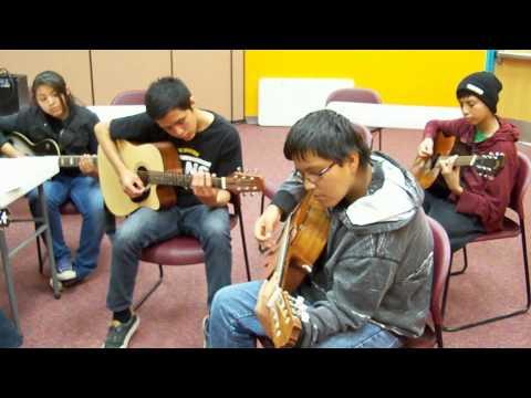 Guitar Workshop on the Navajo Indian Reservation Arizona