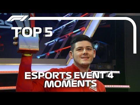 Top 5  Moments   F1 Esports Pro Series 2019 Grand Final
