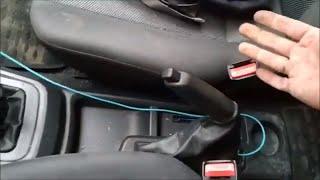 Регулировка ручного тормоза на Daewoo Нексия. Не держит ручник.
