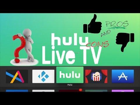 Hulu Live TV App Pro & Cons Apple TV & iOS Detailed