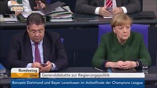 """Sahra Wagenknecht lobt Donald Trump im Bundestag und spricht von Merkels """"Lügenmärchen"""""""