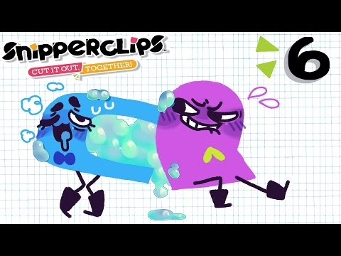 PACK IT IN TIGHT, MAKE IT OOZE / Snipperclips / Jaltoid Games