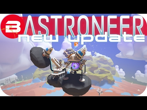 Astroneer Gameplay - NEW UPDATE: CHEATY SPACE BASE! Lets Play Astroneer Experimental