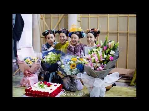 Diên Hi công lược: Tần Lam, Nhiếp Viễn, Ngô Cẩn Ngôn, Xa Thi Mạn cực 'lầy' trên phim trường