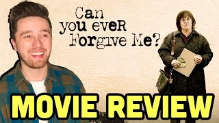 Can You Ever Forgive Me? (2018) - Movie Review | McCarthy Oscar Chances?|