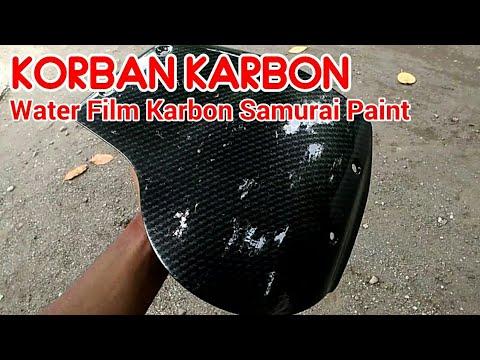 Water Film Samurai Paint Celup Cover Lampu Tiger