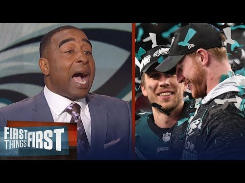 Cris Carter on why Nick Foles won't be an Eagle, Michael Bennett to Philly | FIRST THINGS FIRST