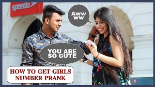 How To Get Girls Number Prank On Cute Girls ||AKY Films||