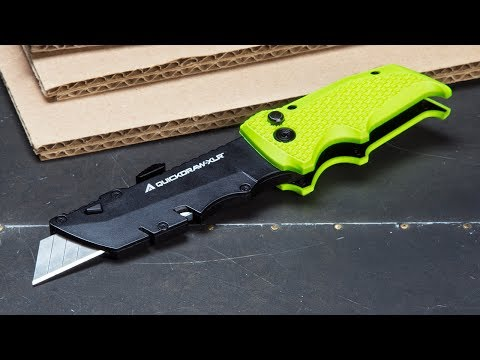 A utility knife that offers more utility.