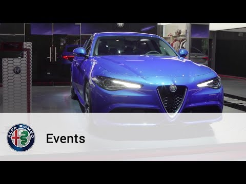 Alfa Romeo at Mondial Auto Paris Motor Show 2016