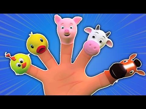 Chanson de famille de doigt | Rimes pour enfants | Finger Family Rhyme | Baby Song | Children Rhymes