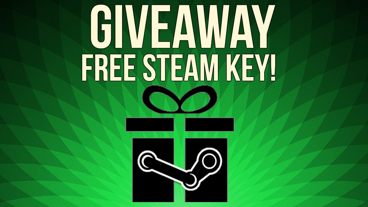 Giveaway free steam games