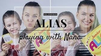 ALIAS WITH NANA ♡ Pelaan Tyttäreni Kanssa | Nella Törnroos