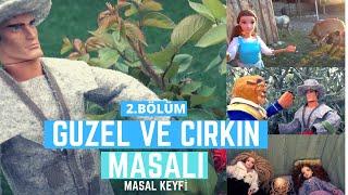 Güzel ve Çirkin Masal Filmi Türkçe Part 2 - Barbie ile Türkçe Masallar // Masal Keyfi