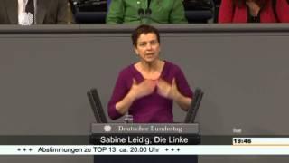 Sabine Leidig, DIE LINKE: Keine Privatisierung auf Kosten der Öffentlichkeit