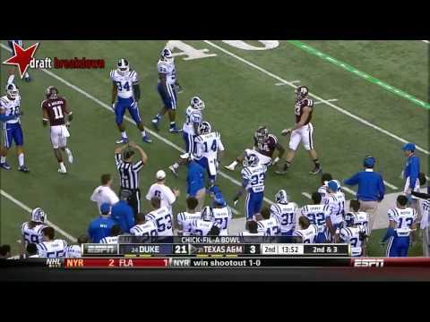 Johnny Manziel (Texas A&M QB) vs Duke, 2013 Chick-Fil-A Bowl