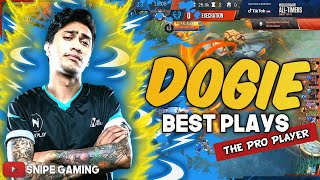 DOGIE TOP PLAYS AS A PRO PLAYER THE LEGEND