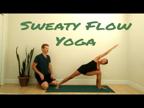 Sweaty Flow Yoga - 30 Minute Yoga Practice with Matthew Downard