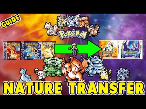 How To KNOW NATURES In POKEMON RED BLUE AND YELLOW & TRANSFER Them To POKEMON SUN And MOON! (Guide)