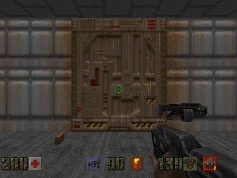 Doom 1 Mod Quake 2 Weapons Gameplay Episode 1/4 Full