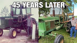 Farmer Finds His 1st Tractor