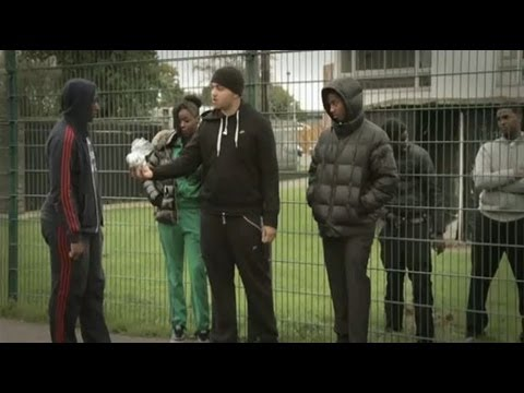 Gang Struggles Fix on ITV News London, October 2013