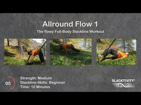 Slackline Workout