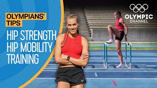 How to improve your Running with hurdle drills   Learn from an Olympic Finalist   Olympians' Tips