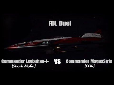 Elite Dangerous - FDL Duel against CMDR Leviathan-I- |